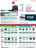 Brosur A3 Fuji Xerox Promo April