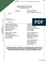 NetJumper Sofware L. L. C. v. Google, Incorporated - Document No. 72