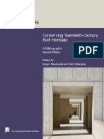Conserving Twentieth-Century Built Heritage