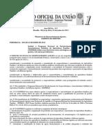 PORTARIA N 204 Institui o Programa Nacional de Fortalecimento Do Cooperativismo e Associativismo Solidário Da Agricultura Familiar