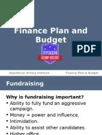 finance plan and budget- rvi