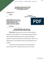 HILL v. CROSBY et al - Document No. 7