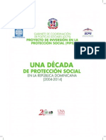 Una década de Protección Social en la República Dominicana (2004-2014)