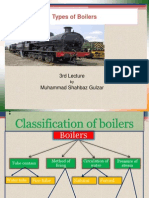 3rd Lecture - Types of Boilers