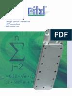 Pitzl - Design Manual Connectors - HVP Connectors, SPP Connectors