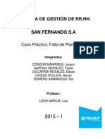 informe RRHH caso