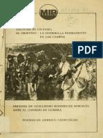 38 aniversario del MIR Pascal Allende, Guillermo Rodriguez