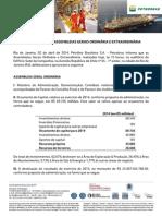 Deliberações AGO e AGE_Petrobras