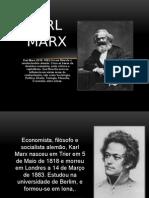 Slides vida e obra Karl Marx