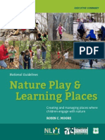 Nature Play and Learning Places - Executive Summary