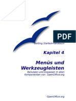 OpenOffice - Handbuch - Kapitel 4