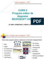 209917691 Curs 5 Program Editor de Diagrame Visio