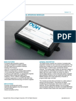 D6000 Serial Data Sheet