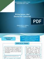 Jurisprudencia Laboral Principios Del Derecho Laboral