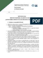 Metodologie Sustinere Examen de Licenta Si Elaborare Proiect de Diploma_lucrare de Licenta