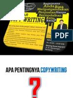 Ilmu Copywriting Coach DEWA