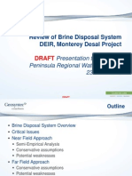 MPRWA DEIR Review 3 Brine Disposal