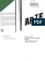 Una Historia de La Educacion Artistica Arthur Efland