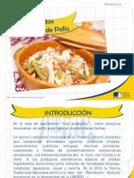 Antojitos Mexicanos de Pollo