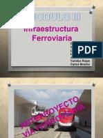 Infraestructura  Ferroviaria