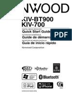 Manual for Kenwood KIV-700