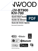 Manual for Kenwood KIV-700