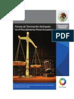 Formas de Terminacion Anticipada en El Procedimiento Penal Acusatorio. Gutierrez Parada