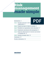 Ref - Domain 1 - Risk Management - Made Simple