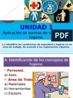 UNIDAD 1 a. Identificación de Los Conceptos de Higiene.