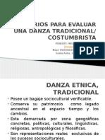 CRITERIOS PARA EVALUAR UNA DANZA TRADICIONAL.pptx