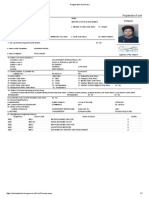 Registration Summary