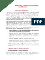 Tema 8. La Intervención Administrativa Sobre Las Edificaciones