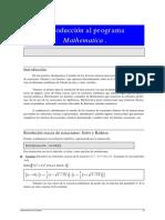 Resolucion de Ecuaciones y Sistemas