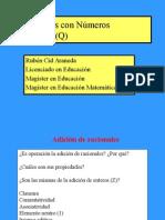 (12) Operaciones Números Racionales(2013-5)