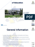 University of Education Freiburg - Presentation