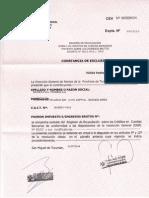Constancia de Exclusion, No Retencion y No Percepcion de IIBB Tucuman