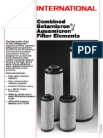 BetamicronR-AquamicronR Combined Filter Elements