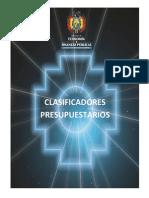 Clasificador Presupuestario Bolivia