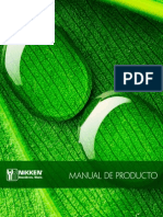 Manual Producto Nikken2015
