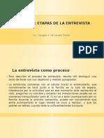 3ra Clase de Teorias y Tecnicas de La Entrevista.