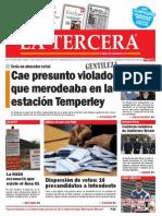 Diario La Tercera 23.06.2015