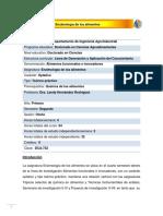 DCA-732 Enzimología de los alimentos