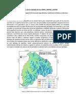 Evaluación de La Calidad de Los DEM  SRTM y ASTER