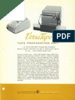 Versatape Brochure