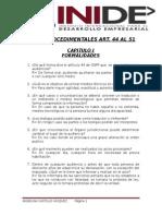 Actos Procedimentales (Preguntas)
