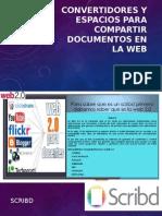 Convertidores y Espacios Para Compartir Documentos en La