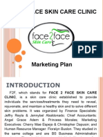 Face2face Skin Care Clinique Marketing Plan