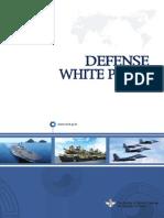 South Korea Defense White Paper 2008