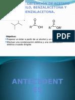 Sintesis de acetato de isoamilo