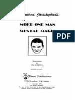 Milbourne Christopher - More One Man Mental Magic